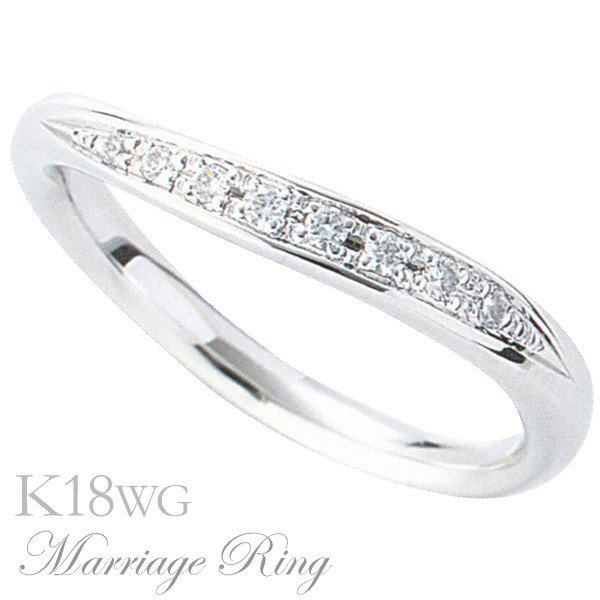【限定価格セール!】 マリッジリング 6bl 結婚指輪 高品質 ダイヤモンド K18 K18 高品質 ホワイトゴールド レディース 6bl, SPOPIA NET SHOP:6c69800a --- airmodconsu.dominiotemporario.com