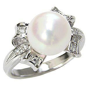 当店在庫してます! パール リング 真珠 指輪 あこや本真珠 silver シルバー キュービックジルコニア 冠婚葬祭 普段使い, チアーズR店 f8e32467