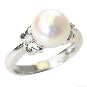 【美品】 指輪 ダイヤモンド ブライダル リング リング 普段使い パール あこや真珠パール ホワイトゴールド ダイヤモンド 冠婚葬祭 普段使い, オヂヤシ:6f2d942c --- airmodconsu.dominiotemporario.com