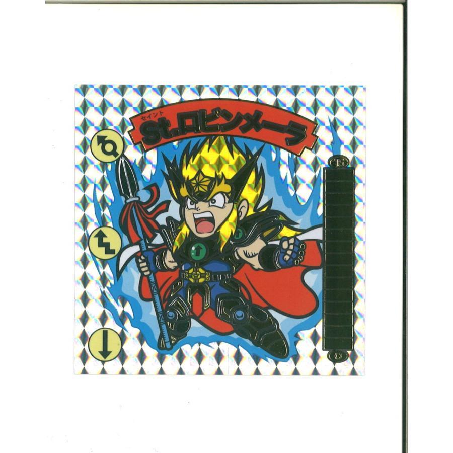 幻の最終抗争 続報 角プリズムドデカシール(金箔・銀箔付)全6種 96mm×96mm|shinoku-store