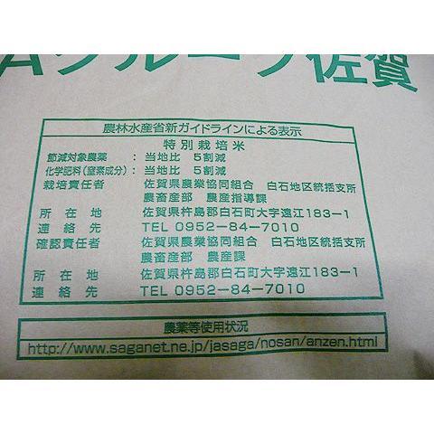 令和2年 佐賀県白石地区産 特別栽培 『七夕コシヒカリ』 10kg|shinozaki-kome|06