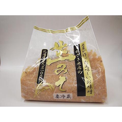 しのざき米店の手作り米味噌1kg|shinozaki-kome
