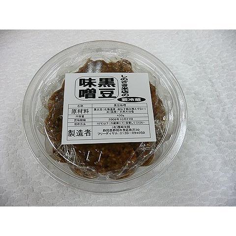 しのざき米店の手作り黒豆味噌400g|shinozaki-kome