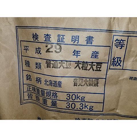平成29年産 手作り味噌材料 北海道産普通栽培青大豆音更大袖振 1kg|shinozaki-kome|03