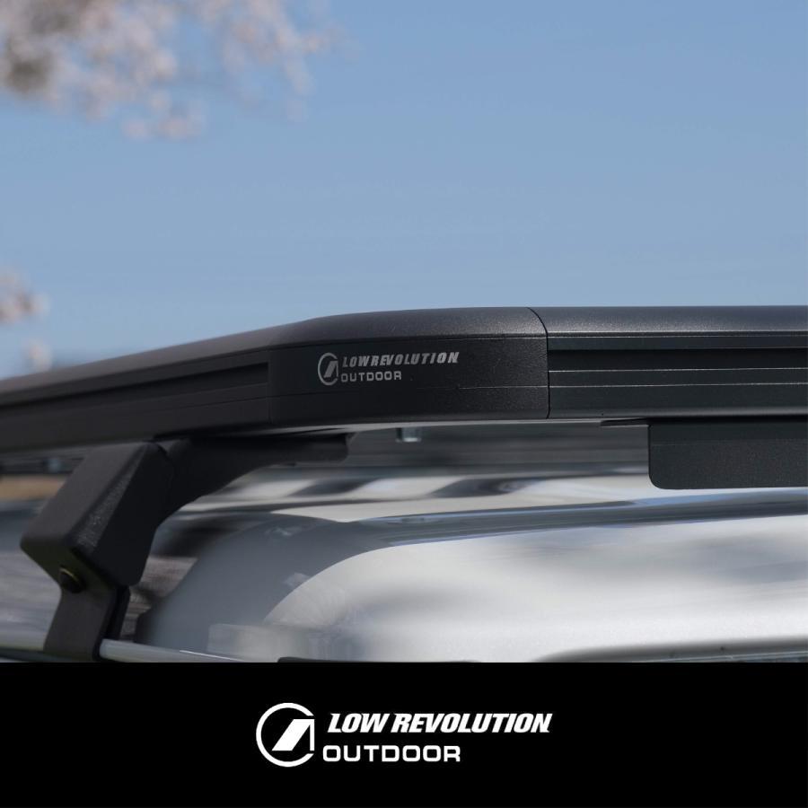 LOW REVOLUTION OUTDOOR スズキ 新型 ジムニー JB64 ジムニーシエラ JB74 アルミ製 ルーフラック ルーフキャリア 超低型 専用設計 shinsentek 03