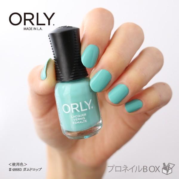 ORLY オーリー ネイル ラッカー マニキュア 品番 48683 ガムドロップ 5.3mL パステル 緑 グリーン マット カラー ORLY JAPAN 直営店|shinwa-corp|04