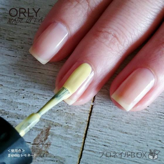 ORLY オーリー ネイル ラッカー マニキュア 品番 48685 レモネード 5.3mL パステル イエロー 黄色 マットカラー ORLY JAPAN 直営店 shinwa-corp 05