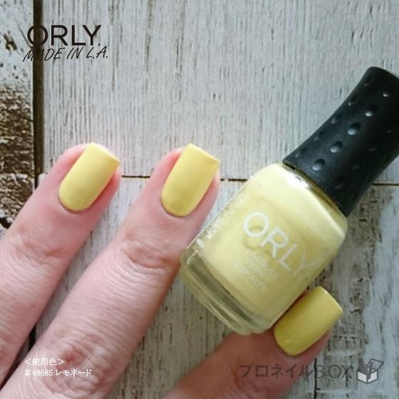 ORLY オーリー ネイル ラッカー マニキュア 品番 48685 レモネード 5.3mL パステル イエロー 黄色 マットカラー ORLY JAPAN 直営店 shinwa-corp 06