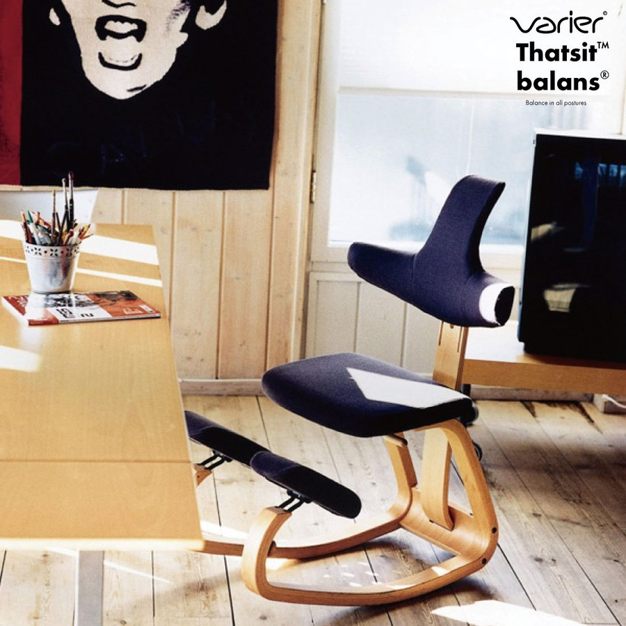 Varier/ヴァリエール】Thatsit Balans Chair/Peter Opsvik/バリエール/ザットシット/バランス/チェア