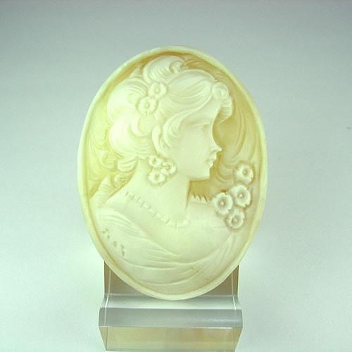 高い品質 シェルカメオ シェルカメオ 手彫り 手彫り 46×34mm 46×34mm ジュエリールース de149, 関西トリカエ隊:756b26cb --- airmodconsu.dominiotemporario.com