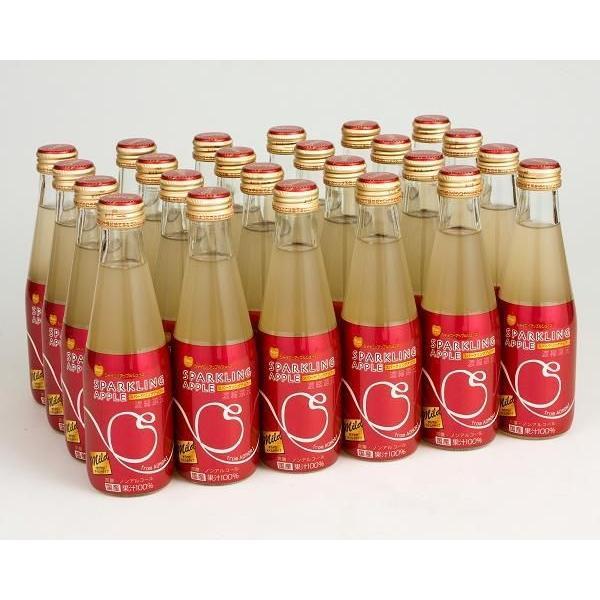 送料込み シャイニーアップルジュース スパークリングアップル マイルド|shinyapple