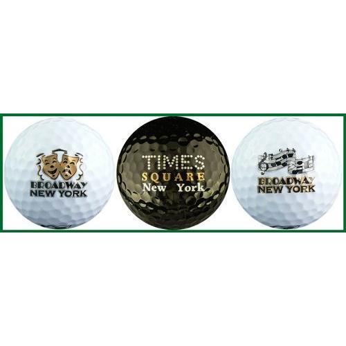 ニューヨークブロードウェイさまざまなゴルフボールギフトセット