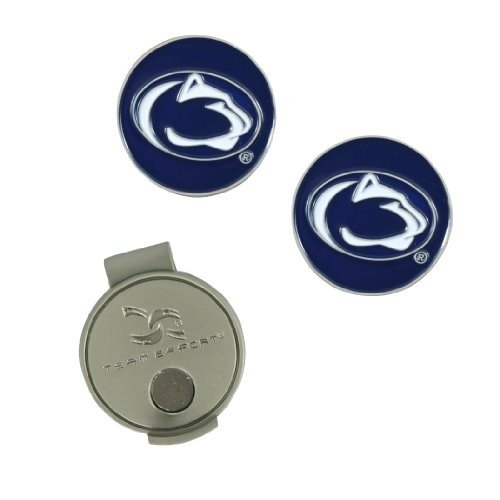 (Penn State Nittany Lions) - Penn State Nittany Lions Hat Clip and Ball