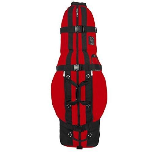 Club Glove Last Bag Travelbag 赤 - Sac de voyage roulante golf couleur