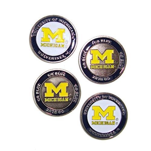 ( 4*) Michigan Wolverinesゴルフボールマーカー