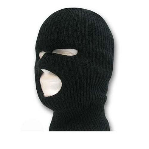 Ski Mask / Tri Hole - 黒