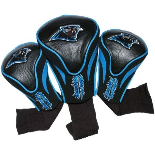 (Carolina Panthers) - NFL 3 Pack Contour Head Covers