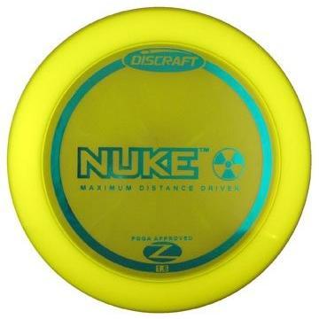 Discraft Elite Z Nukeディスクゴルフドライバー イエロー