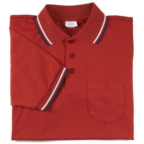 (XX-Large, Scarlet) - Adams USA Smitty Major League Style Short Sleeve