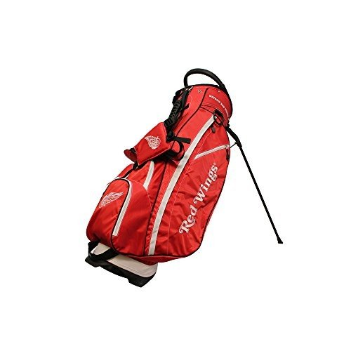 Team Golf 13928 NHL Detroit 赤 Wings Fairway Stand-Carry Bag 14 Way
