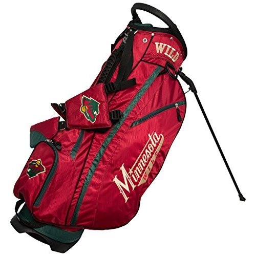 (Minnesota Wild) - Team Golf NHL Minnesota Wild Fairway Fairway Fairway Golf Stand Bag 756