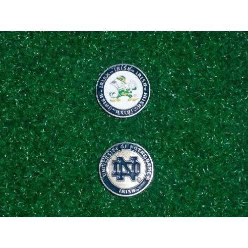 ノートル・ダム大学 両面印刷ゴルフボールシングルマーカーオンリー。