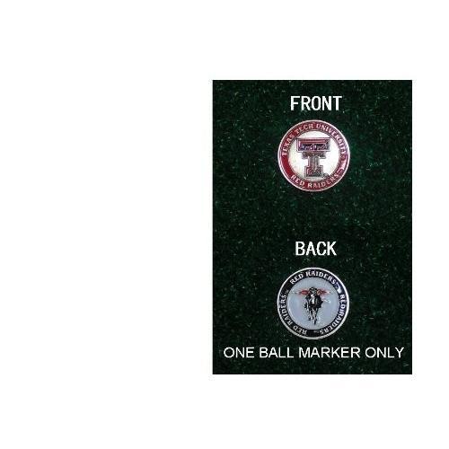 【送料無料/即納】  テキサス工科大学ゴルフ両面1つボールマーカーのみ, 青山貿易マワハンガー正規販売店:11b788ab --- persianlanguageservices.com