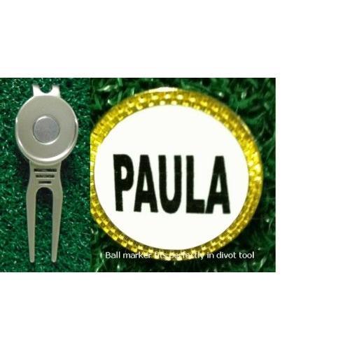 感謝の声続々! Gatormade Personalizedゴルフボールマーカー& Divot Tool Paula, ジェネシスH2ウォーター c65b99b6