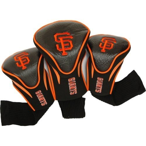 (San Francisco Giants) - MLB 3 Pack Contour Head Covers