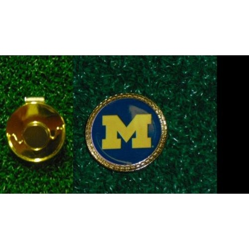 Gatormade Golf Ball Marker & Hat Clip Michigan Wolverines