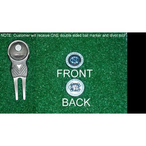 ノースカロライナ大学ゴルフDivot Tool w / 3つ両面