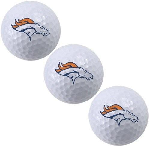 NFL Denver Broncos 3*- Packのゴルフボール