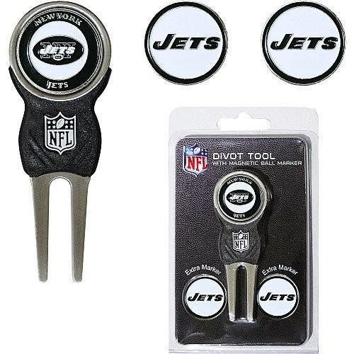 超安い New York Jets NFL Divot Tool w / 3つ両面ボールマーカー, 大津町 475a6664