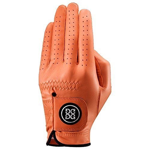 G/FORE Men's Golf Glove, Left/Cadet - Small - Tangerine