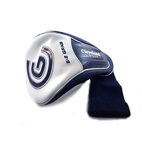 NEW Cleveland Launcher Ultralite Navy 青/白い Driver Headcover