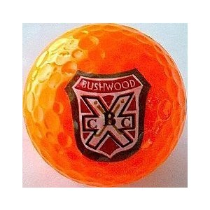 Wilson Smart Core オレンジ Golf Balls Caddyshack Inspi赤 Bushwood Country