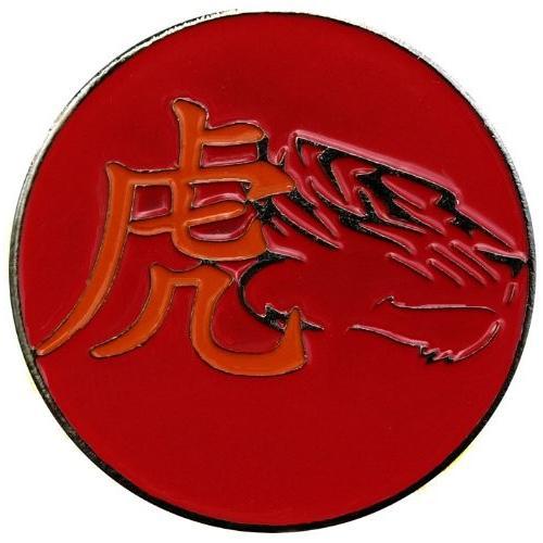 Chinese Zodiacタイガーゴルフボールマーカーwith Chinese Zodiac帽子クリップ