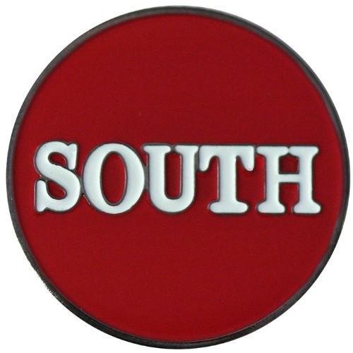 Southレッドゴルフボールマーカーwith Matchingハットクリップ