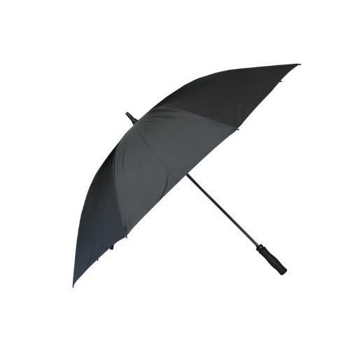 RainStoppersゴルフ傘with Foamラバーハンドル ブラック