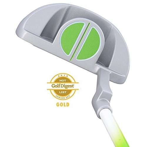Paragon Golf Rising Star Kids Junior Putter Ages 8-10 緑 / Left-Hand