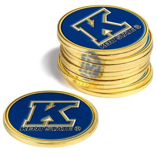 Kent State ゴールドen Flashes Golf Ball Markers ( 4*Pack )