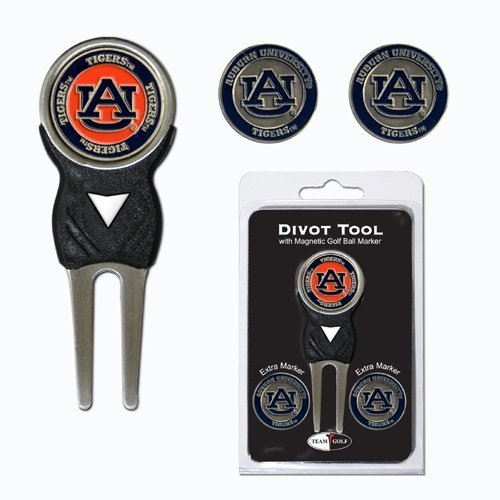 IFS***オーバーンTigers NCAA Divot Tool Pack w /署名ツール