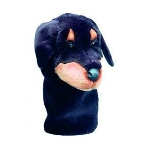 Daphne 's : x12用ヘッドカバー***Rottweiller犬