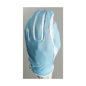 Evertan Women 's Tan Throughゴルフグローブ:ファンタジアブルー***Small Left Hand
