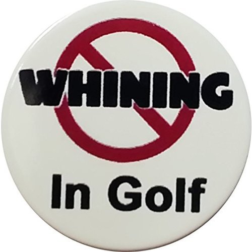 No Whiningでゴルフゴルフボールマーカーby Atomic市場