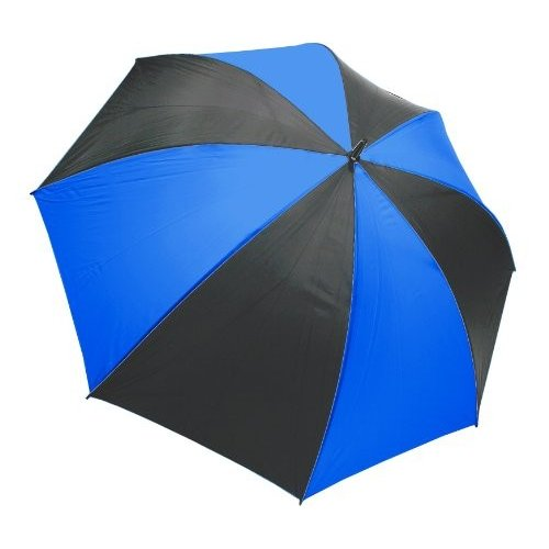 ProActive Sports Ultra-Lite Umbrella, Black/Blue, 62-Inch