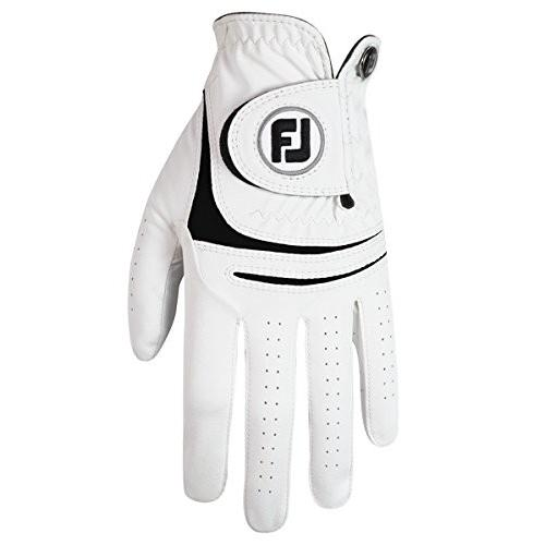 FootJoy WeatherSofゴルフグローブホワイトLeft HandメンズCadetミディアム