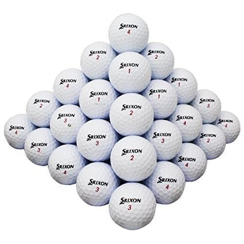 50*Srixon z-star Mix AAA Good品質usedゴルフボール