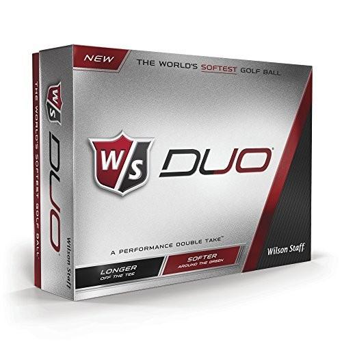 (白い) - Wilson Staff Duo Golf Balls (12-Pack)