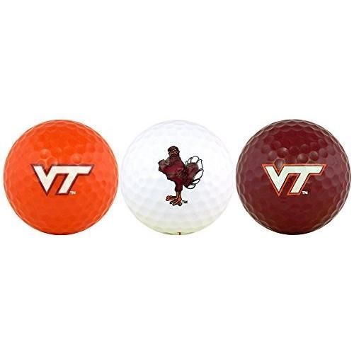 バージニア工科大学Hokiesゴルフボールギフトセット